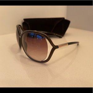 Tom Ford Raquel Sunglasses Brown